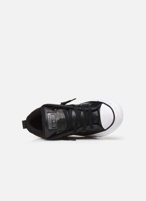 Deportivas Converse Chuck Taylor All Star Street Boot Two-Tone Hiker Leather Mid Negro vista lateral izquierda