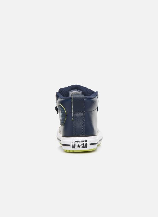 Sneakers Converse Chuck Taylor All Star Street Boot Two-Tone Hiker Leather Mid Azzurro immagine destra