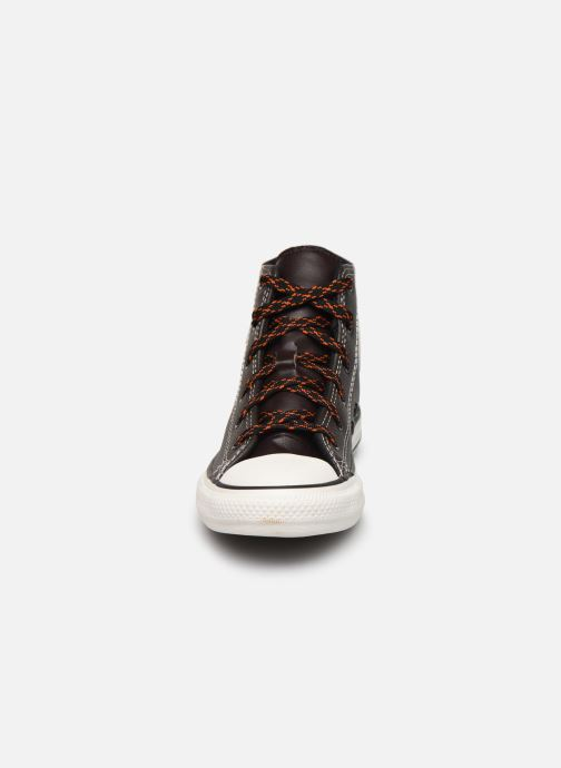 Trainers Converse Chuck Taylor All Star East Village Explorer Hi Brown model view