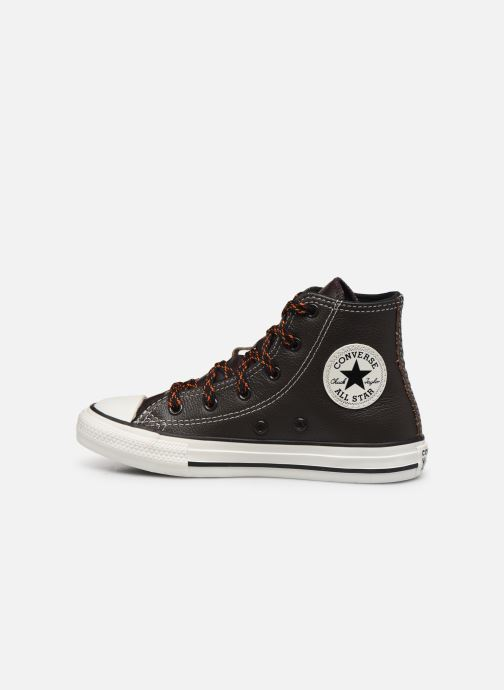 Trainers Converse Chuck Taylor All Star East Village Explorer Hi Brown front view