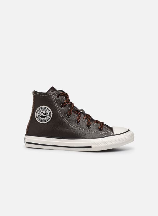 Trainers Converse Chuck Taylor All Star East Village Explorer Hi Brown back view