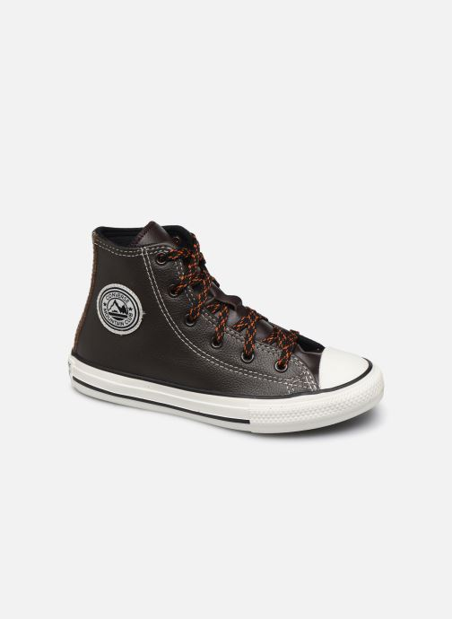Trainers Converse Chuck Taylor All Star East Village Explorer Hi Brown detailed view/ Pair view