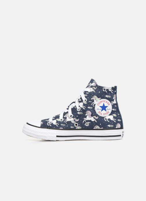 Baskets Converse Chuck Taylor All Star Unicons Hi Bleu vue face