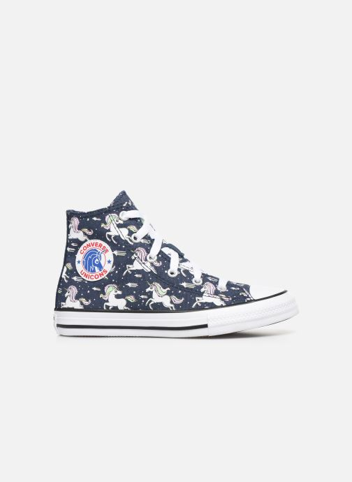 Sneakers Converse Chuck Taylor All Star Unicons Hi Blauw achterkant