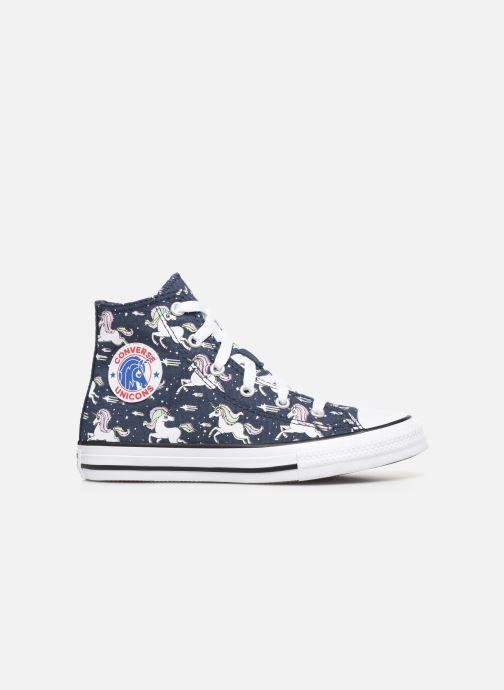 Sneakers Converse Chuck Taylor All Star Unicons Hi Blå se bagfra