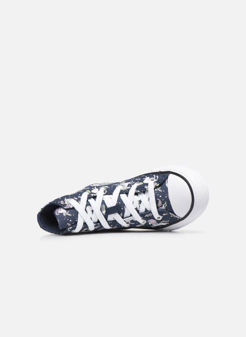 Sneakers Converse Chuck Taylor All Star Unicons Hi Blå se fra venstre