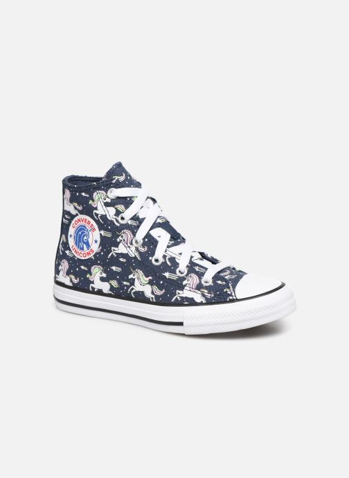 Baskets Converse Chuck Taylor All Star Unicons Hi Bleu vue détail/paire