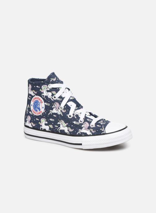 Sneakers Converse Chuck Taylor All Star Unicons Hi Blå detaljeret billede af skoene