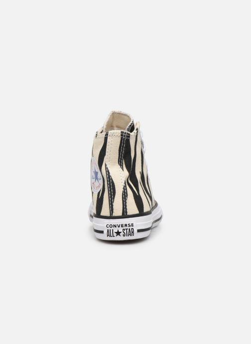 converse femmes zebra