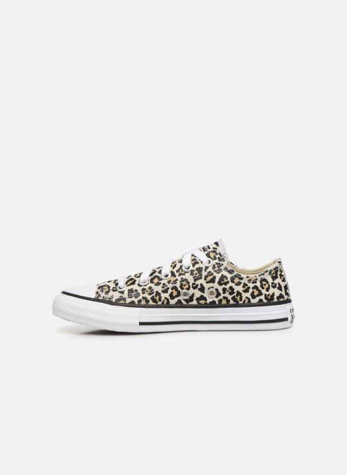 Baskets Converse Chuck Taylor All Star Archive Leopard Ox Blanc vue face