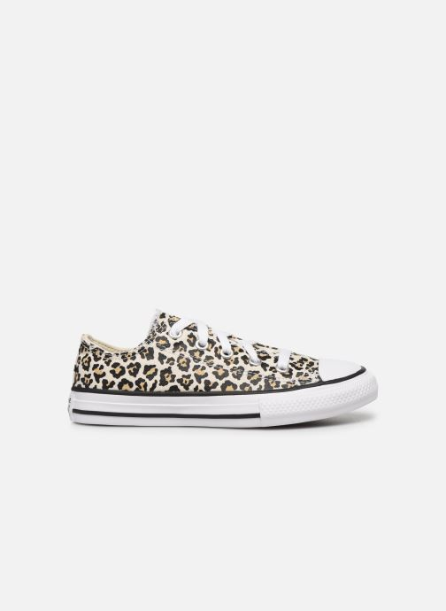 Sneakers Converse Chuck Taylor All Star Archive Leopard Ox Wit achterkant