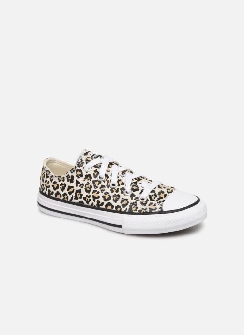 Baskets Converse Chuck Taylor All Star Archive Leopard Ox Blanc vue détail/paire
