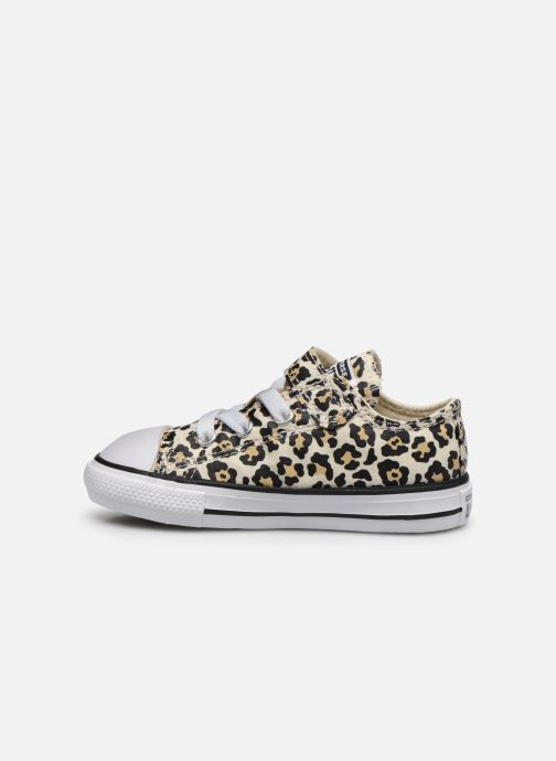 Baskets Converse Chuck Taylor All Star 1V Archive Leopard Ox Blanc vue face