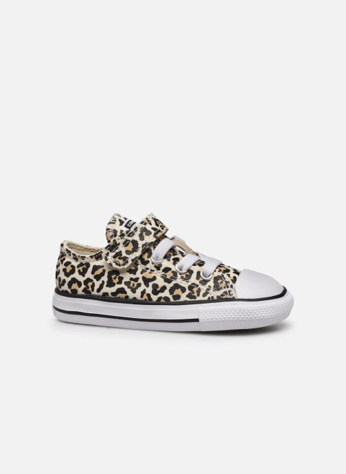 Sneakers Converse Chuck Taylor All Star 1V Archive Leopard Ox Wit achterkant