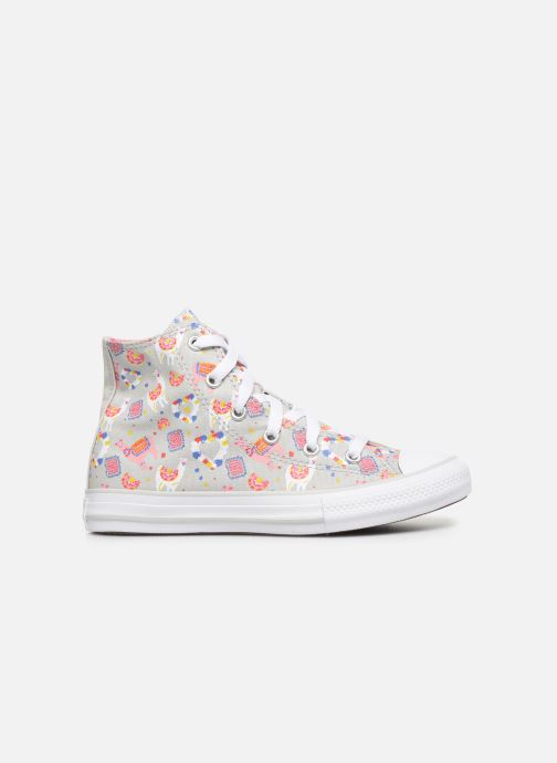 Baskets Converse Chuck Taylor All Star Llama Party Hi Gris vue derrière
