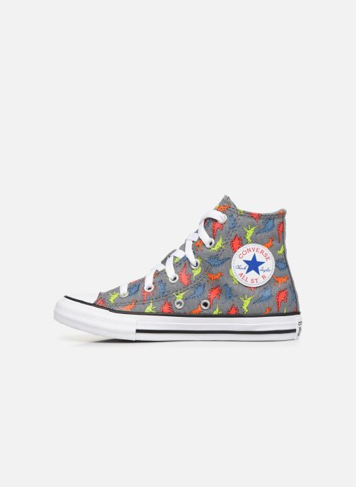 Trainers Converse Chuck Taylor All Star Dinoverse Hi Grey front view