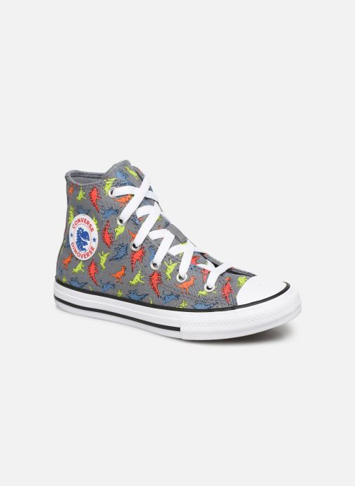 Trainers Converse Chuck Taylor All Star Dinoverse Hi Grey detailed view/ Pair view