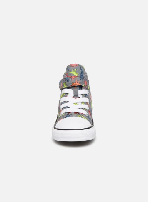 Trainers Converse Chuck Taylor All Star 1V Dinoverse Hi Grey model view