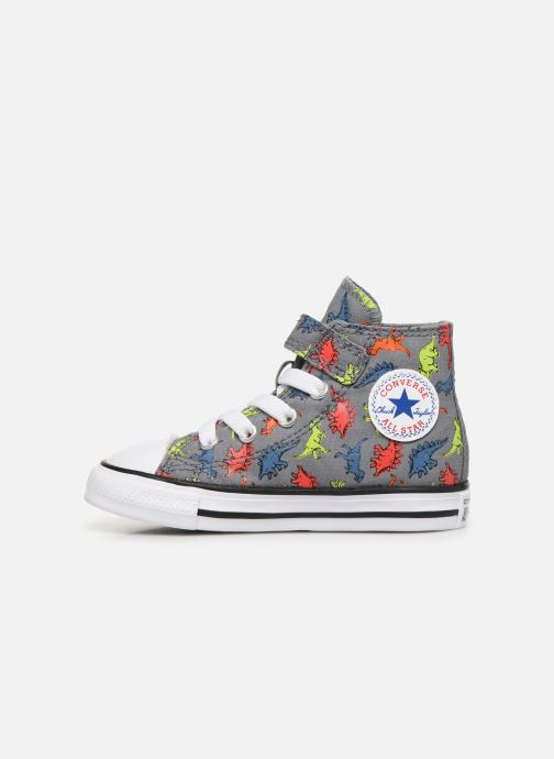 Trainers Converse Chuck Taylor All Star 1V Dinoverse Hi Grey front view