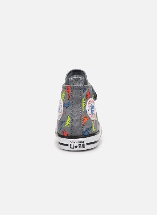 Sneakers Converse Chuck Taylor All Star 1V Dinoverse Hi Grijs rechts