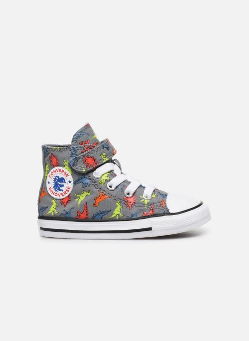 Trainers Converse Chuck Taylor All Star 1V Dinoverse Hi Grey back view