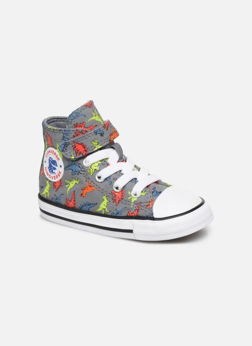 Trainers Converse Chuck Taylor All Star 1V Dinoverse Hi Grey detailed view/ Pair view