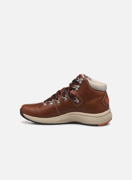 Bottines et boots Timberland 1978 Aerocore Hiker WP Marron vue face