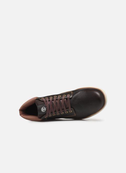 Bottines et boots Timberland Bradstreet Chukka Leather GTX Noir vue gauche