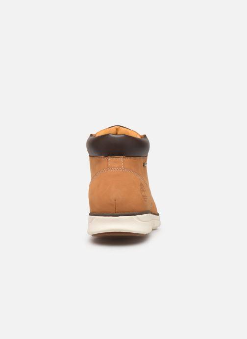 Bottines et boots Timberland Bradstreet Chukka Leather GTX Marron vue droite