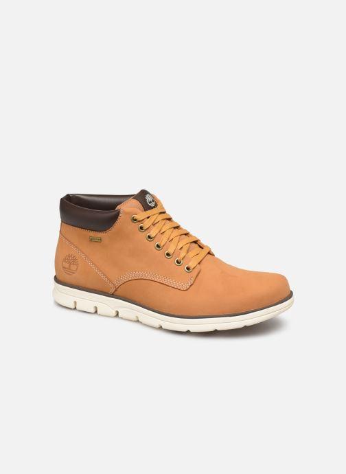 Bottines et boots Timberland Bradstreet Chukka Leather GTX Marron vue détail/paire