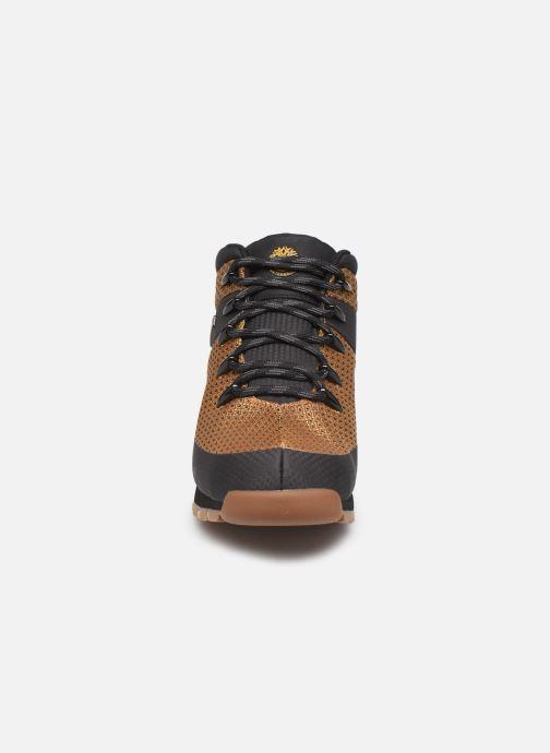 Boots en enkellaarsjes Timberland Euro Sprint Fabric WP Bruin model