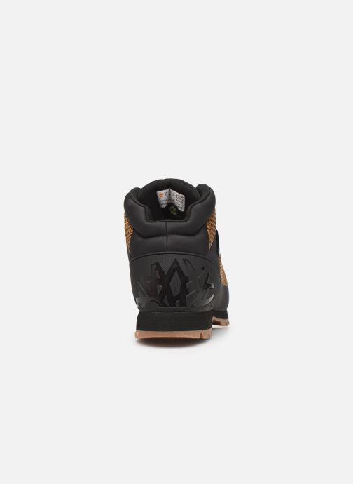 Boots en enkellaarsjes Timberland Euro Sprint Fabric WP Bruin rechts