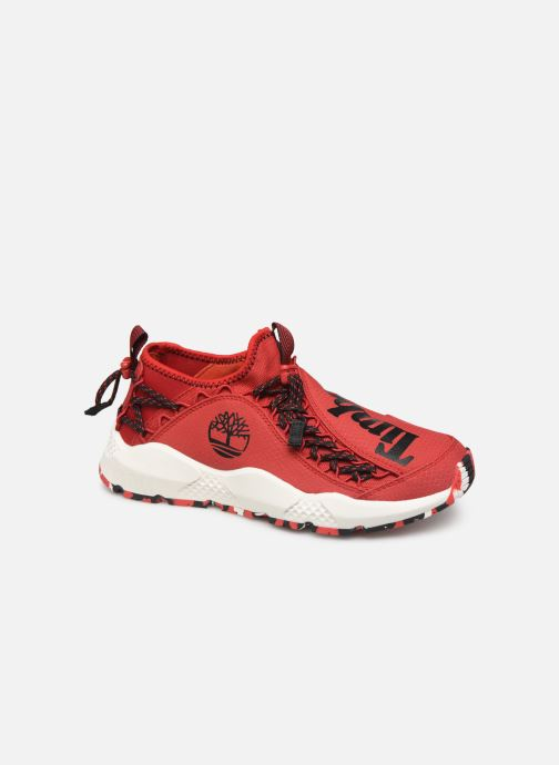 Baskets Timberland Ripcord Fabric Rouge vue détail/paire
