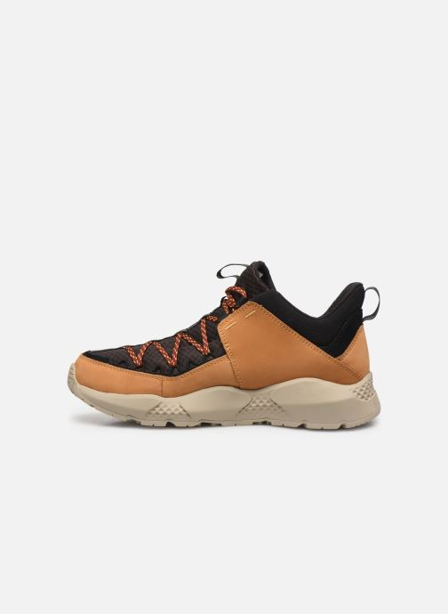 Sneaker Timberland Ripcord Low braun ansicht von vorne