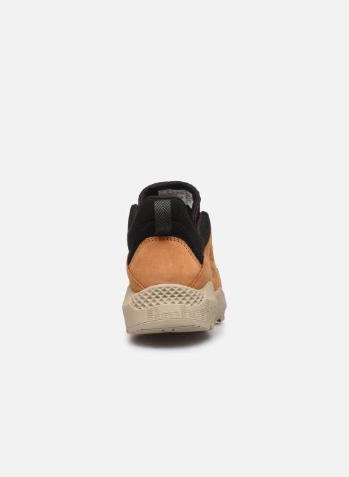 Sneaker Timberland Ripcord Low braun ansicht von rechts