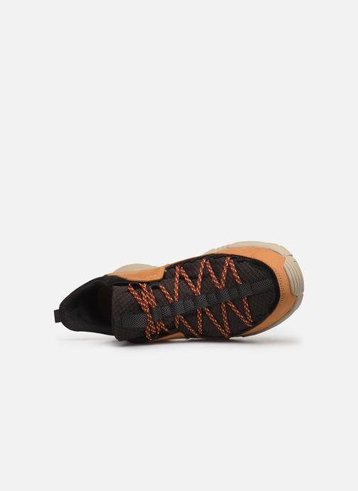 Sneaker Timberland Ripcord Low braun ansicht von links