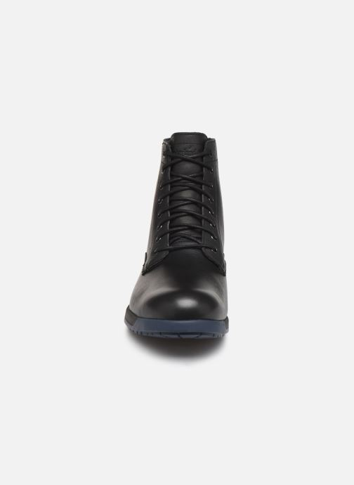 Stivaletti e tronchetti Timberland City's Edge WP Boot Nero modello indossato