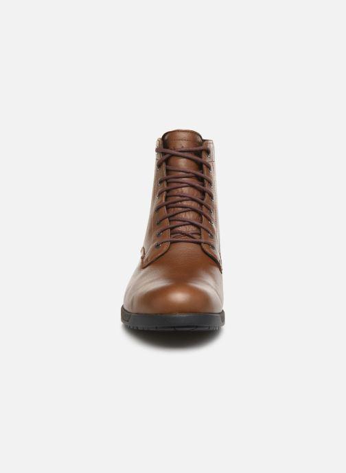 Bottines et boots Timberland City's Edge WP Boot Marron vue portées chaussures