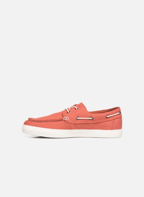 Zapatos con cordones Timberland Union Wharf 2 Eye boat Ox Naranja vista de frente
