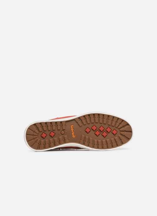 Chaussures à lacets Timberland Union Wharf 2 Eye boat Ox Orange vue haut