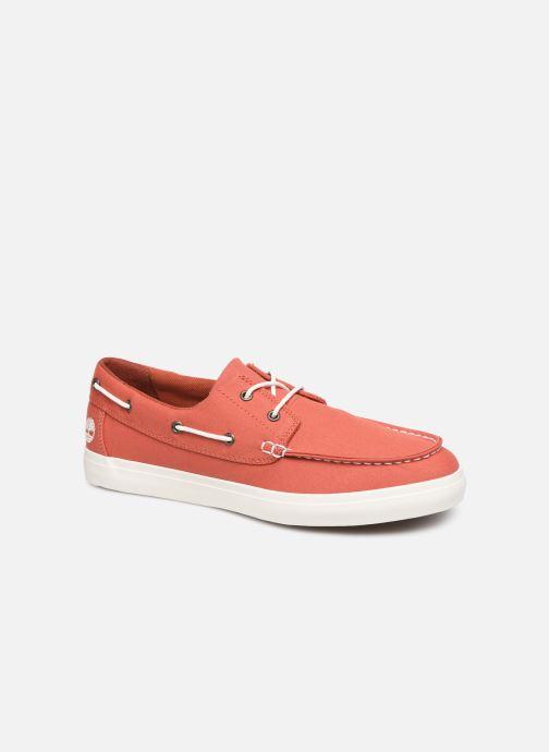 Zapatos con cordones Timberland Union Wharf 2 Eye boat Ox Naranja vista de detalle / par
