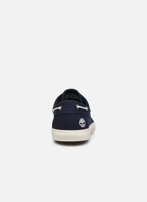 Chaussures à lacets Timberland Union Wharf 2 Eye boat Ox Bleu vue droite