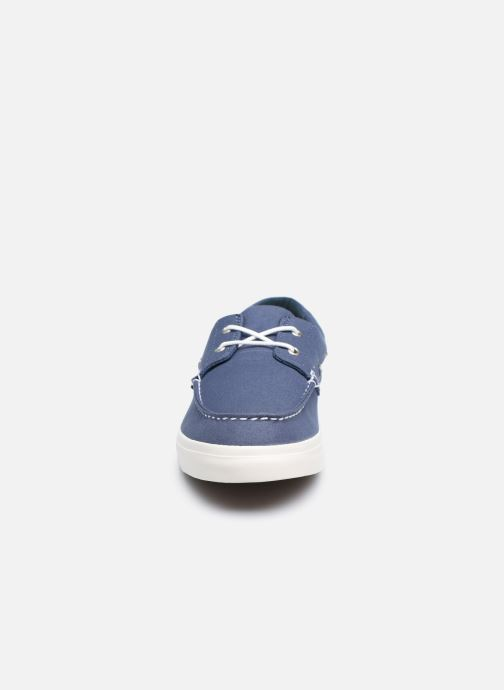 Zapatos con cordones Timberland Union Wharf 2 Eye boat Ox Azul vista del modelo
