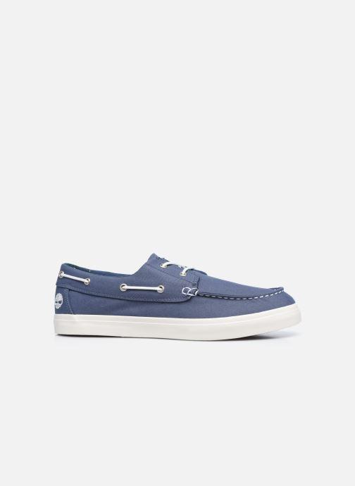 Zapatos con cordones Timberland Union Wharf 2 Eye boat Ox Azul vistra trasera