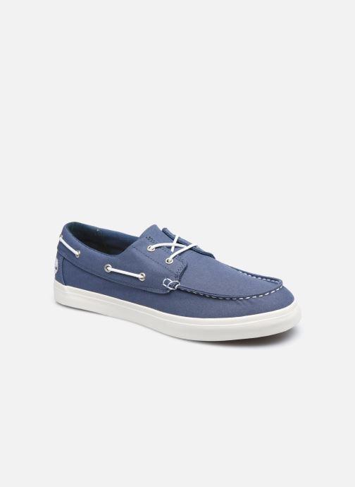 Zapatos con cordones Timberland Union Wharf 2 Eye boat Ox Azul vista de detalle / par