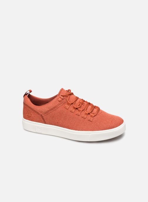 Trainers Timberland Amherst Flexiknit Alpine Ox Orange detailed view/ Pair view