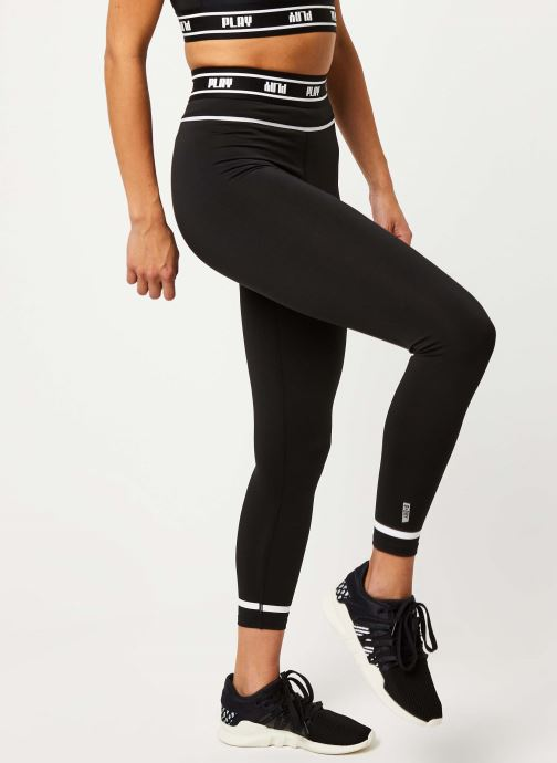 Vêtements Only Play ONPDAI 7/8 HW TRAINING TIGHTS SP P NC12 BLACK Noir vue détail/paire