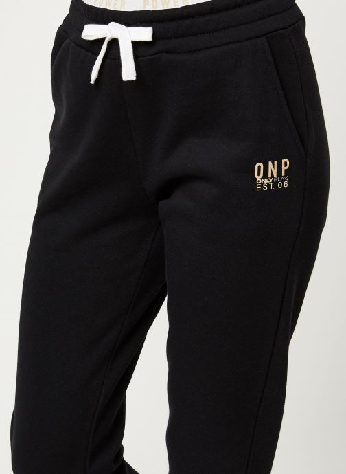 Vêtements Only Play ONPNAHLA BRUSED SWEAT PANTS NC 12 Noir vue face