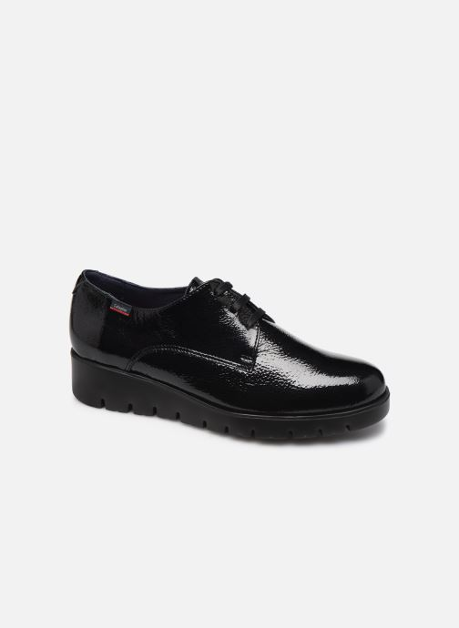 Lace-up shoes Callaghan Haman Derby Black detailed view/ Pair view