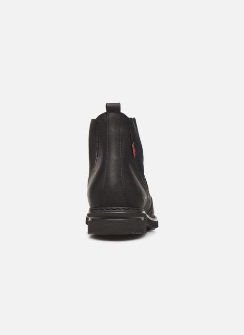 Boots en enkellaarsjes Callaghan Pure Casual lace up boot Zwart rechts